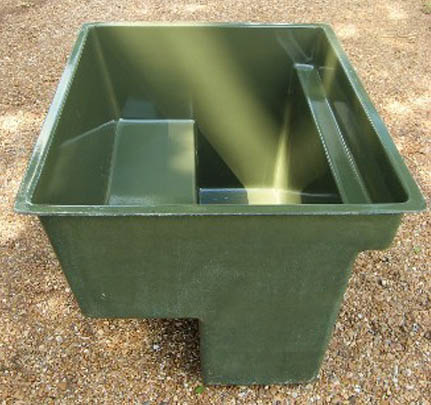 Two Man Bench Style Pit Blind
